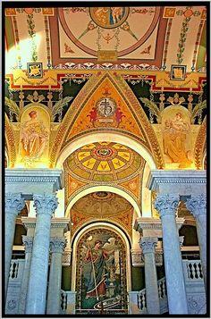 Washington DC Interior Library of Congress