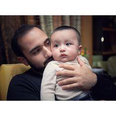 Majid bin Mohammed bin Rashid Al Maktoum con su hijo, Mohammed bin Majid bin Mohammed Al Maktoum, Londres, 29/01/2016. Foto: asmbinthalith
