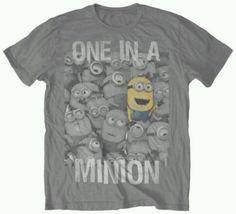 One in a minion t-shirt