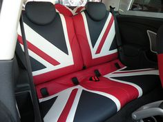 union jack car seats