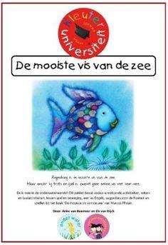 Thema onder water & de mooiste vis| Lesideeën kleuters Juf Anke The Ocean, Chocolate House, Free Summer, Van, Creative, Blog, Handmade, Crowns, Authors