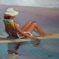 """Front Row Seat"" - Original Fine Art for Sale - © Maryann Lucas"