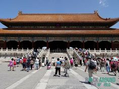 Tai He Men – Gate of Supreme Harmony of the Forbidden City, Beijing