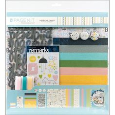"""Scrapbook Page Kit 12""""X12""""-Baby"""