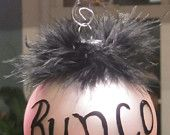 Bunco ornament feathers
