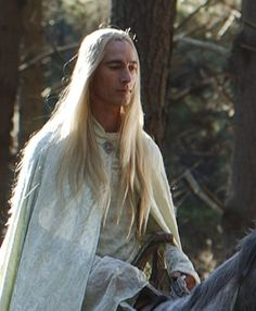 One of the elves of Rivendell. That's actually Jed Brophy, who plays Nori in The Hobbit and also a few bad guys in LOTR