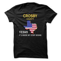 Crosby - its where my story begins - Tshirt