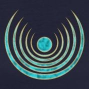 "Moon amulet ""Blue Moon"" - intuition, creativity and media skills, digital, protection symbol Women's T-Shirts"