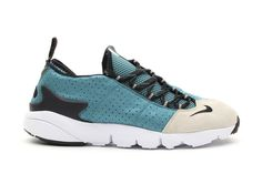 Nike Air Footscape Motion - Mineral Teal / Light Bone