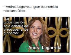 Y compartiendo su sabiduría. | 16 Memes De Andrea Legarreta que por desgracia no detendrán al dólar