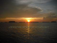 sunset pulau sepa-pulau seribu ,,, www.pulauseribu-wisata.com