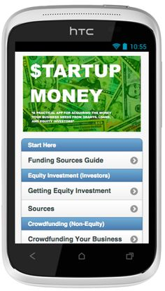 Sources for Small Business Loans and Start Up Investment, as well as information on Grants, Invoice and PO Based Loans, Donation and Non-Equity Crowd Funding Sites.  This is the Perfect App for you if you have a startup or small business (or film) to fund.