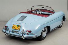1958 Porsche 356 Speedster VIN: 84095 Built on November 1957 this Speedster was destined for the US market being optioned with US spec headlights, bumpers, . Porsche Panamera, Porsche 356 Speedster, Porsche Sports Car, Porsche Cars, Velo Vintage, Vintage Cars, Scooter Moto, Porsche Cayenne, Convertible