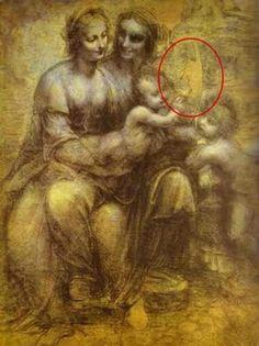 Mensaje Oculto En Las Pinturas De Leonardo Da Vinci.....