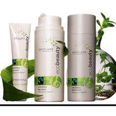 EcoBeauty by Oriflame - Gama que recebeu no ano passado a certificação Ecocert para os produtos Ecobeauty, por conterem no mínimo 95% de ingredientes naturais e 5% de ingredientes orgânicos!   É possível cuidar da nossa pele ao mesmo tempo que do ambiente!