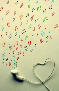 #music #earbuds #music notes