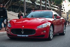 Maserati GranTurismo. To my future husband - black, camel interior