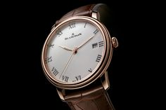 The New Villeret From Blancpain For 2014 - Watch Marvel. Read my review here >>> http://www.watchmarvel.com/the-new-villeret-from-blancpain-for-2014/