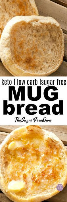 This is so easy to make! This easy recipe is for keto low carb and sugar free mug bread that you can make in a microwave. #keto #diet #lowcarb #bread #sugarfree #easy #recipe
