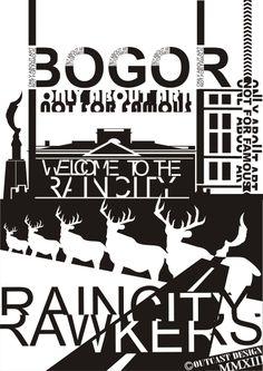 "RainCity Poster ""Typhography"" humancreative@hotmail.co.id"