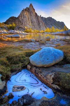 Enchantment Lake Area of Alpine Lakes Wilderness, Washington State