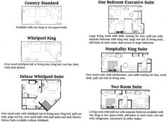 hotel standard room layout - Google Search