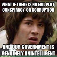 we're all screwed...