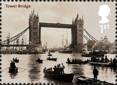 Royal Mail Special Stamps | Bridges of London Tower Bridge. 1894