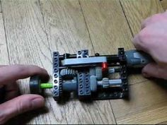 Lego two speed automatic gearbox