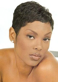 Keisha Epps from TOTAL (Always loved her hair)