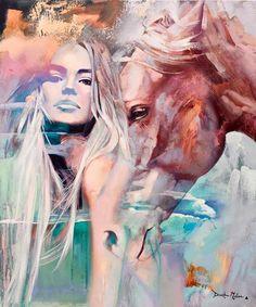 Галерея красоты девушек  в картинах и фотографиях
