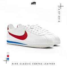 Der Classic Cortez Leather von Nike ist ab dem 14.07.2016 0:01 Uhr onLine auf www.soulfoot.de für €85 erhältlich!  #nike #cortez #forrestgump #classic #sneaker #soulfoot #slft