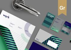 """Check out this @Behance project: """"Work - Business Workspace Branding & Identity"""" https://www.behance.net/gallery/42266185/Work-Business-Workspace-Branding-Identity"""