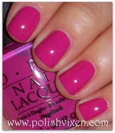 OPI Ate Berries in the Canaries - own