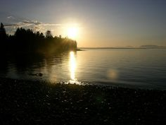 sunset Campbell River Vancouver Island, Girl Photos, Places Ive Been, River, Celestial, Explore, Spaces, Sunset, Outdoor