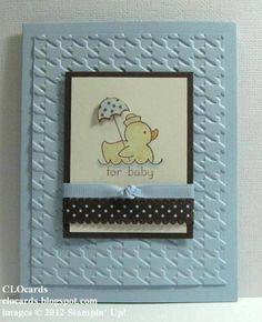 Baby Boy card.