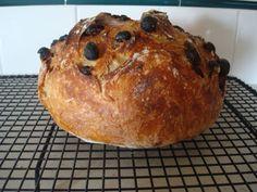 Cinnamon Raisin Bread Loaf (no knead)