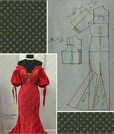 Collar Pattern, Jacket Pattern, Top Pattern, Coat Patterns, Dress Sewing Patterns, Clothing Patterns, Column Dress, Fashion Line, Fashion Sewing