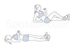 Sprinter crunch exercise guide with instructions, demonstration, calories burned and muscles worked. Learn proper form, discover all health benefits and choose a workout.