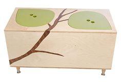 Mod Mom - Owyn Toy Box, Green on OneKingsLane.com