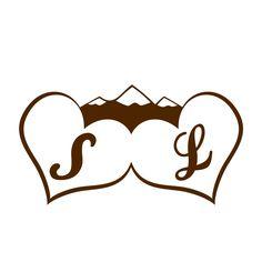 Demande de création de logo pour des mariés, qui se sont marié à la montagne