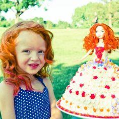 Brave, Merida, birthday cake