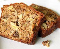 Apple Walnut Flax Seed Bread