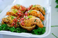 shrimp dishes   Final presentation: Grilled Shrimp dish   Flickr - Photo Sharing!