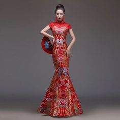 mermaiddress  mermaid  fashionweek  fashiondesign  fashion  weddingdress   reddress  gown e73403169b9b