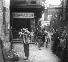 This is Shanghai, less than 100 years ago ...