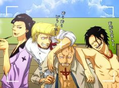 marco ace | Ace, Marco, Shanks, Tacht, Luffy, Pauly, Mihawk