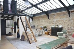 "gravity-gravity: ""French loft via Casa Ferrandi """