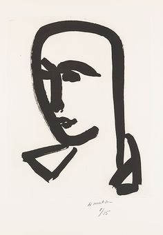 "Henri Matisse ""Young Student"" 1952 Aquatint ..."