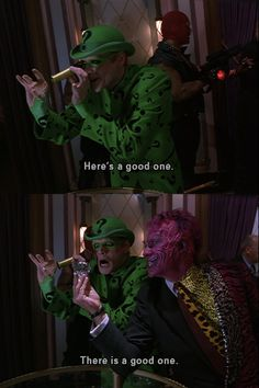 Batman Forever - one of my favorites, mostly for these two!